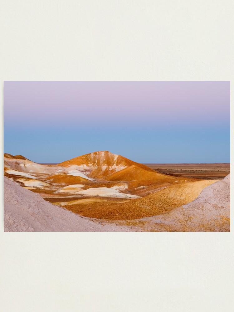 Alternate view of Breakaways at dusk Photographic Print