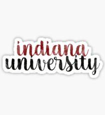 Indiana University - Style 1 Sticker
