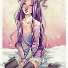 Oni girl by Elisa Serio