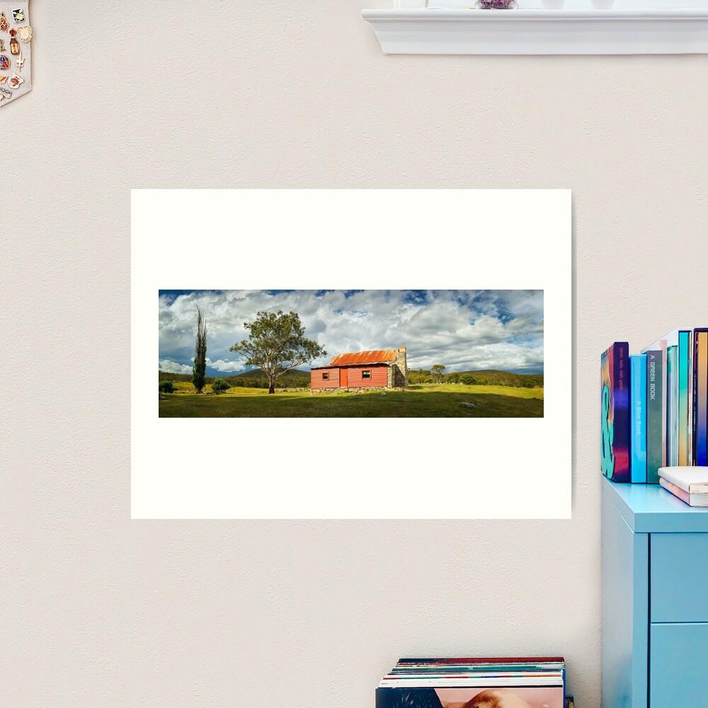 Westermans Homestead, Namadgi National Park, Australian Capital Territory Art Print