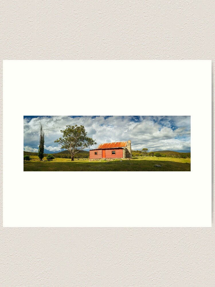 Alternate view of Westermans Homestead, Namadgi National Park, Australian Capital Territory Art Print