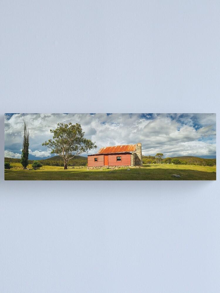 Alternate view of Westermans Homestead, Namadgi National Park, Australian Capital Territory Canvas Print