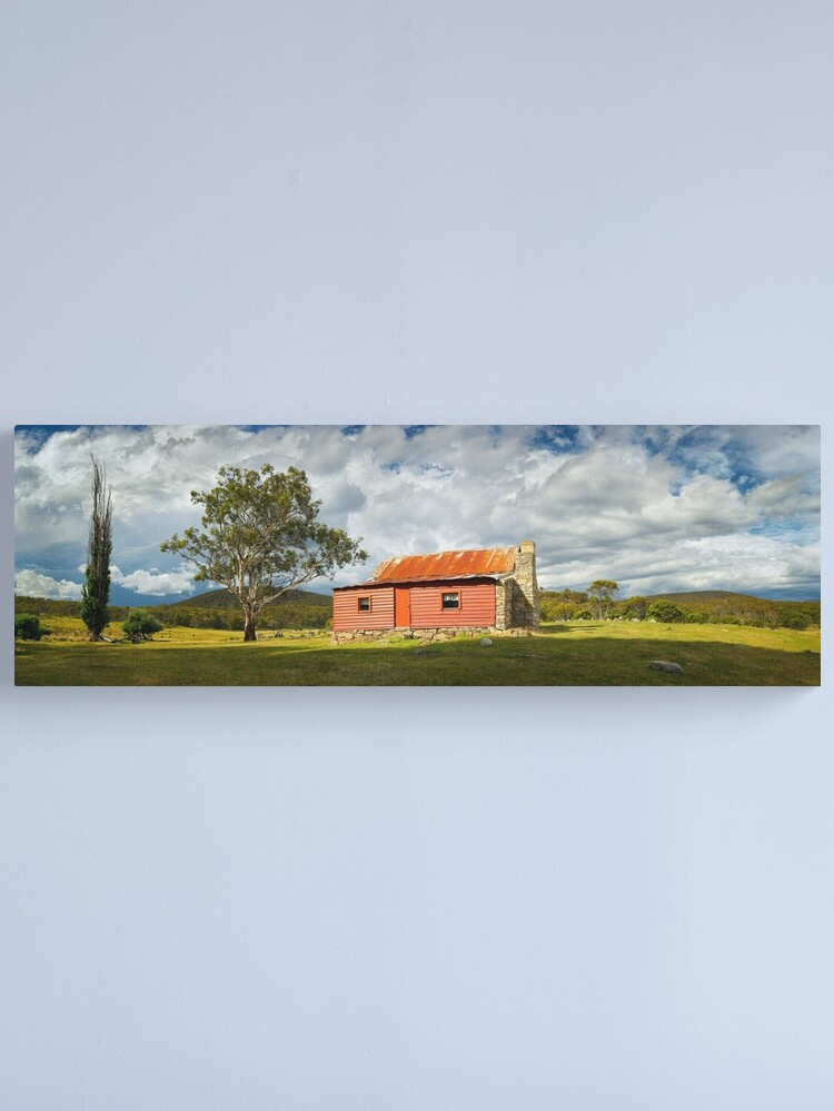 Alternate view of Westermans Homestead, Namadgi National Park, Australian Capital Territory Canvas Print