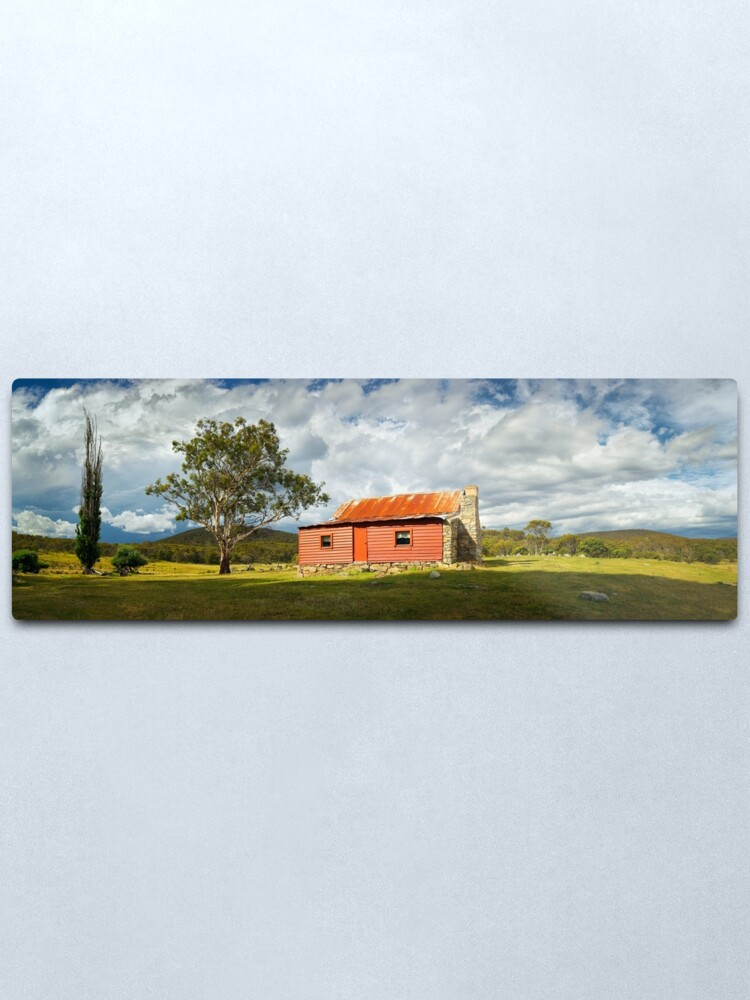 Alternate view of Westermans Homestead, Namadgi National Park, Australian Capital Territory Metal Print