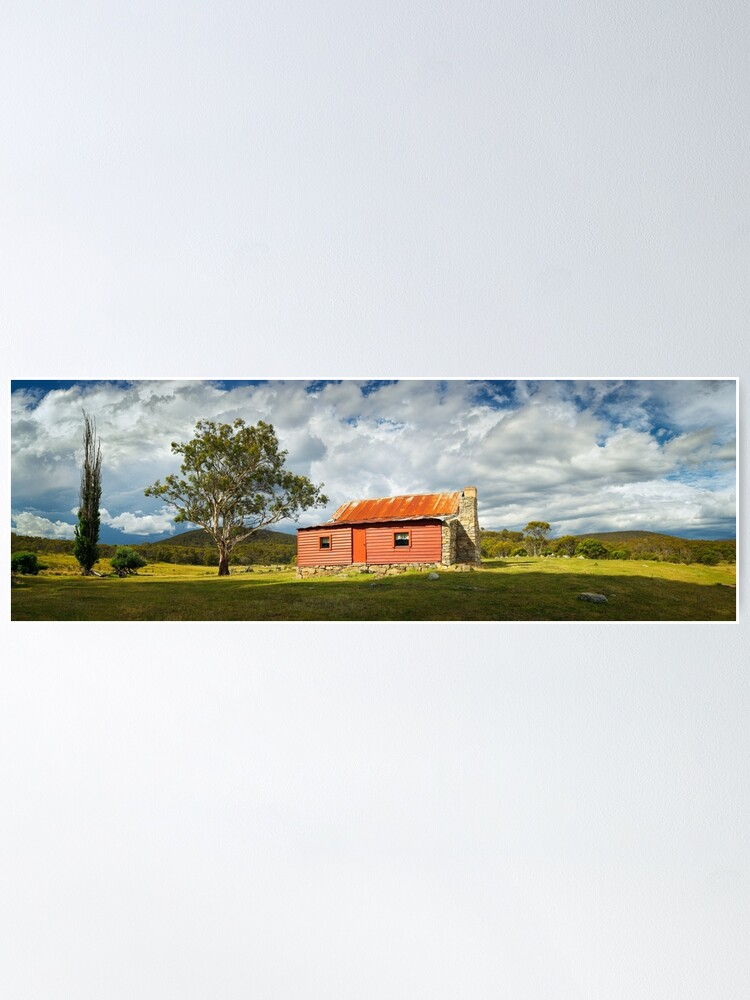 Alternate view of Westermans Homestead, Namadgi National Park, Australian Capital Territory Poster