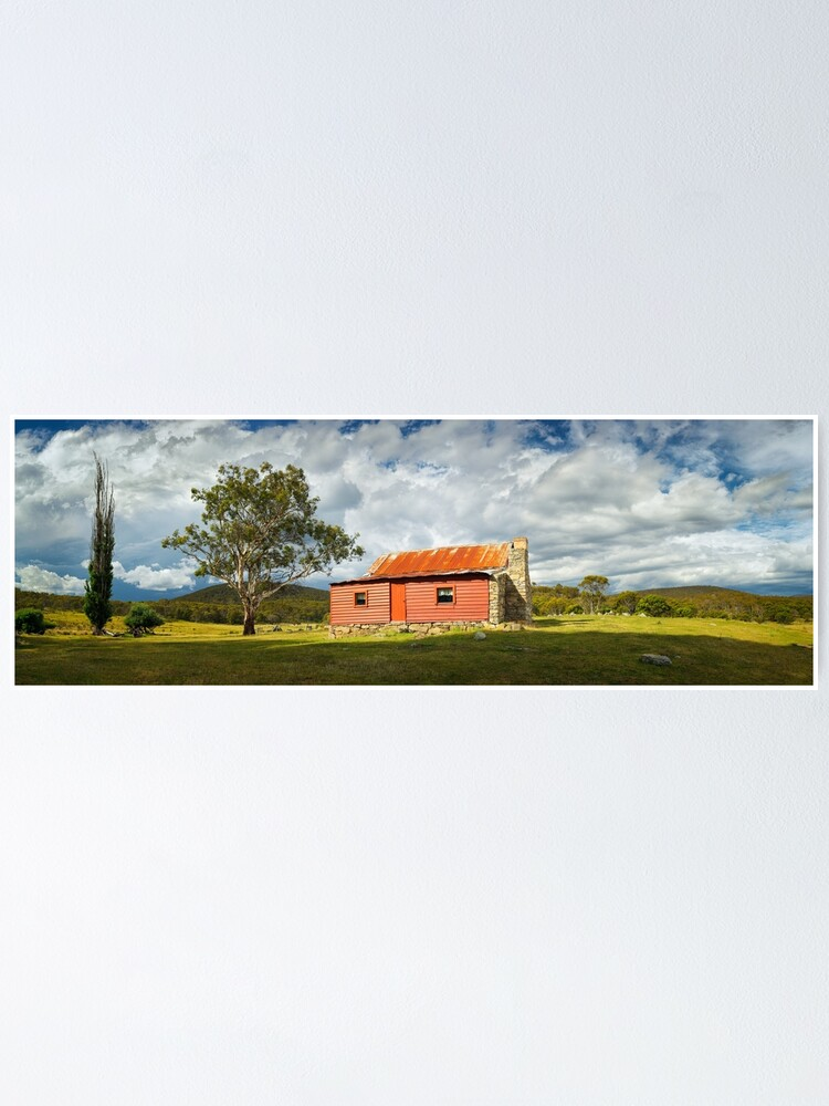 Alternate view of Westermans Homestead, Namadgi National Park, Australian Capital Territory Poster