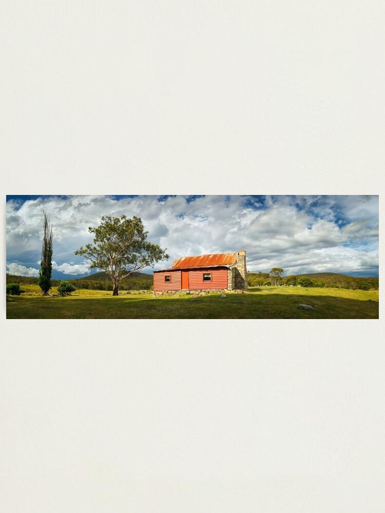Alternate view of Westermans Homestead, Namadgi National Park, Australian Capital Territory Photographic Print