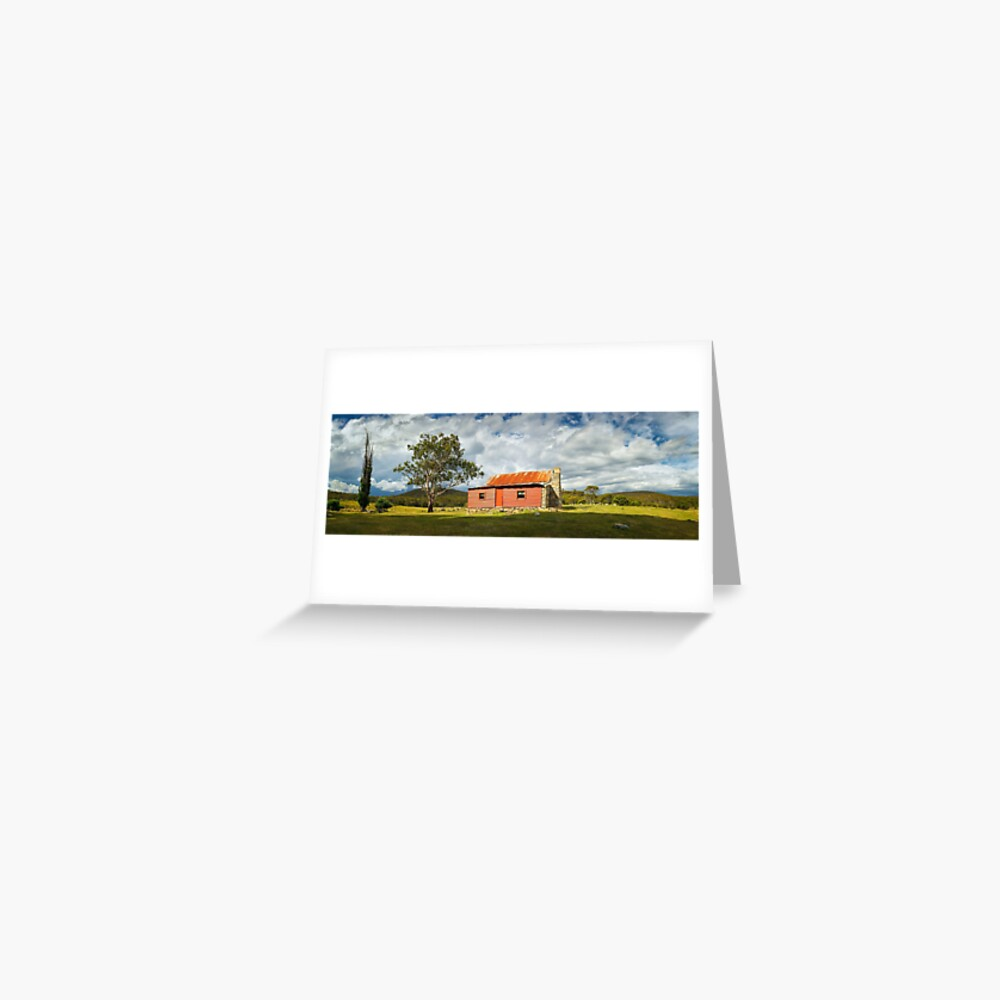 Westermans Homestead, Namadgi National Park, Australian Capital Territory Greeting Card