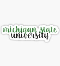 Michigan State - Style 1 Sticker