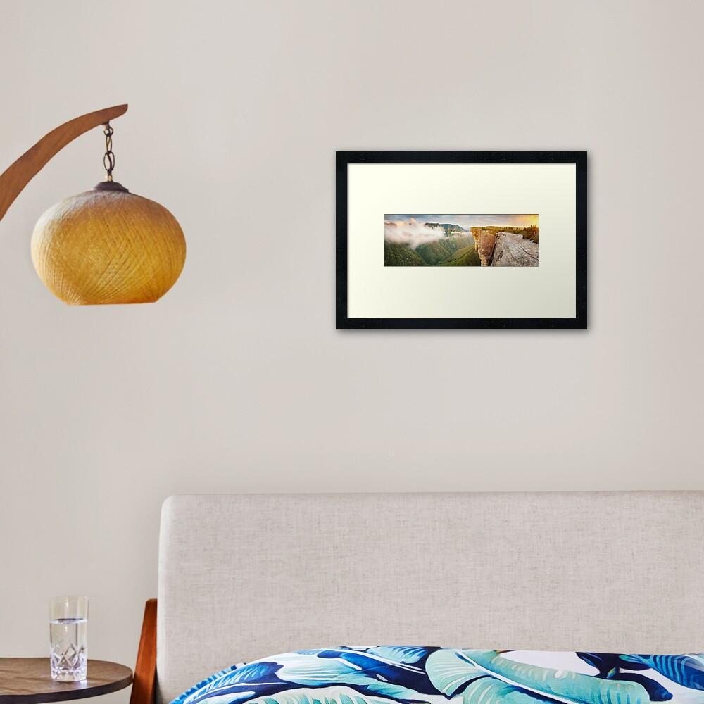 Kanangra Walls, Kanangra Boyd National Park, New South Wales, Australia Framed Art Print