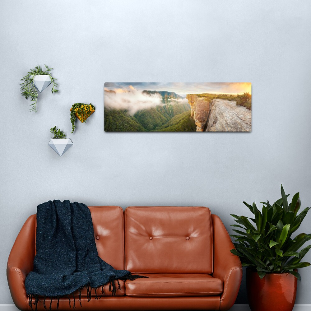 Kanangra Walls, Kanangra Boyd National Park, New South Wales, Australia Metal Print