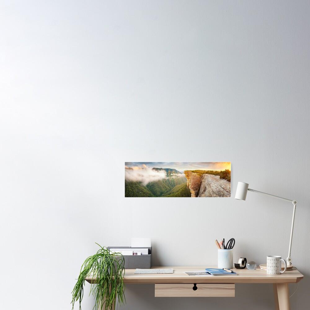 Kanangra Walls, Kanangra Boyd National Park, New South Wales, Australia Poster