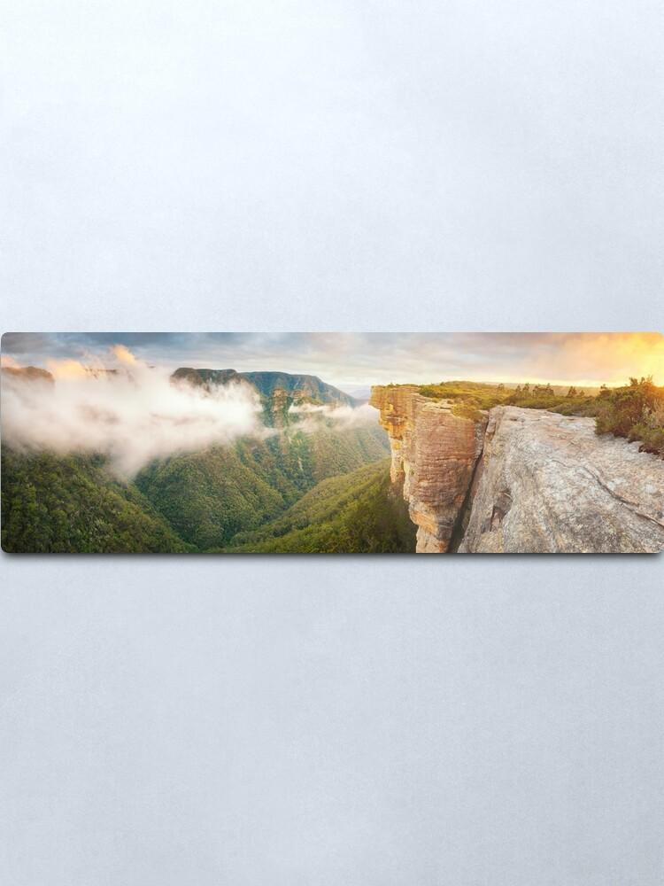 Alternate view of Kanangra Walls, Kanangra Boyd National Park, New South Wales, Australia Metal Print