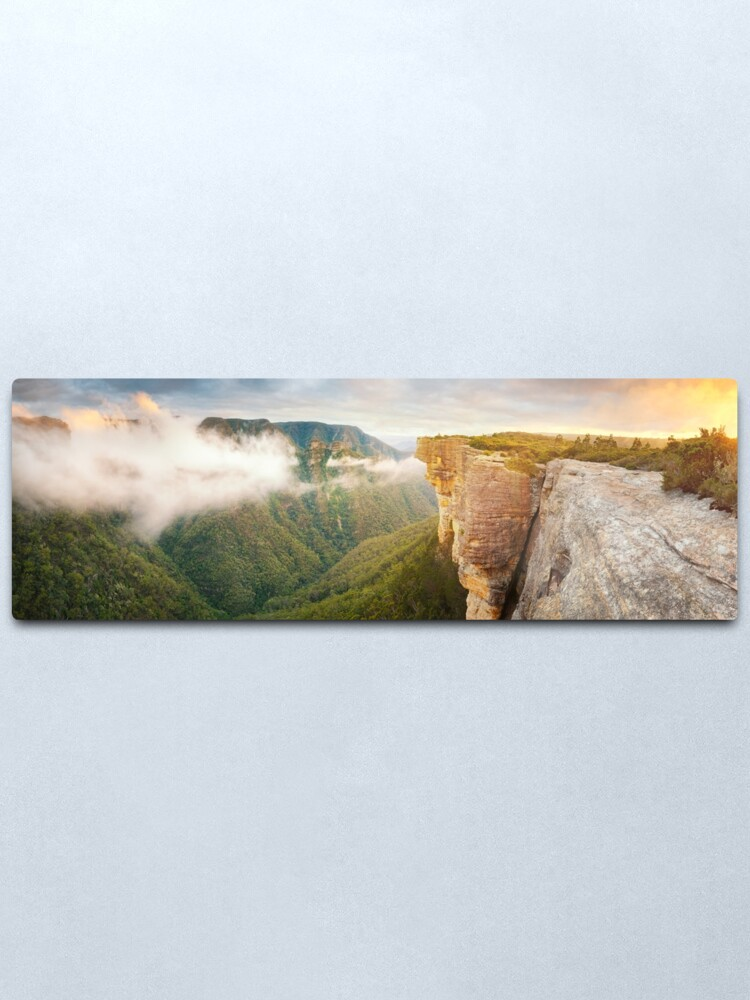 Alternate view of Kanangra Walls, Kanangra Boyd National Park, New South Wales, Australia Metal Print