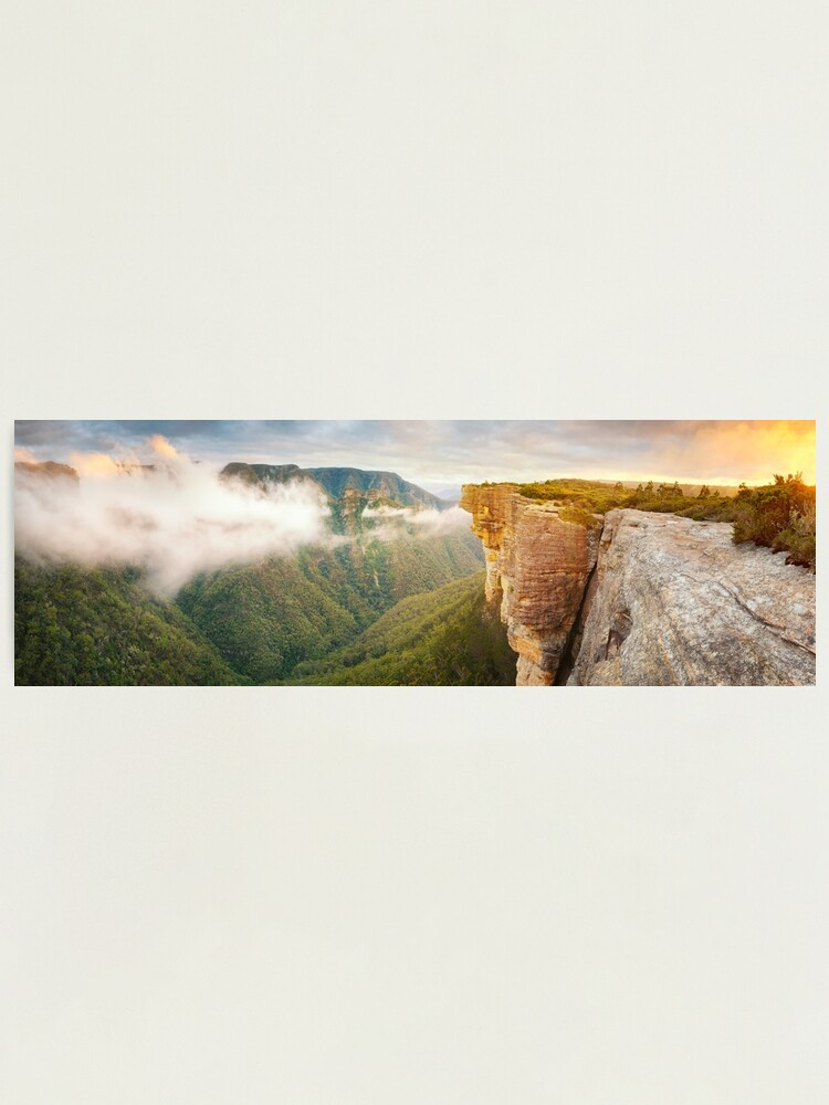 Alternate view of Kanangra Walls, Kanangra Boyd National Park, New South Wales, Australia Photographic Print