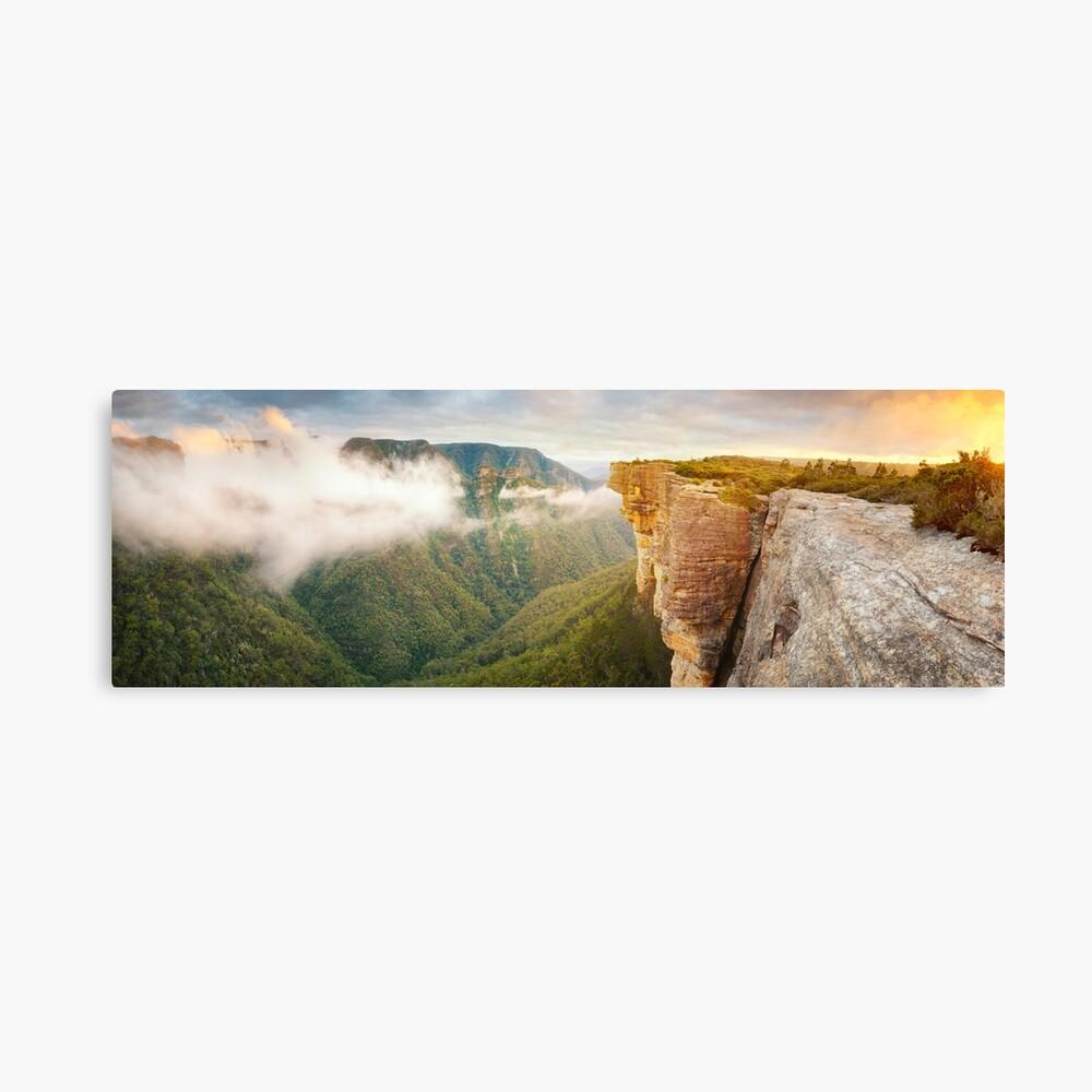 Kanangra Walls, Kanangra Boyd National Park, New South Wales, Australia Canvas Print