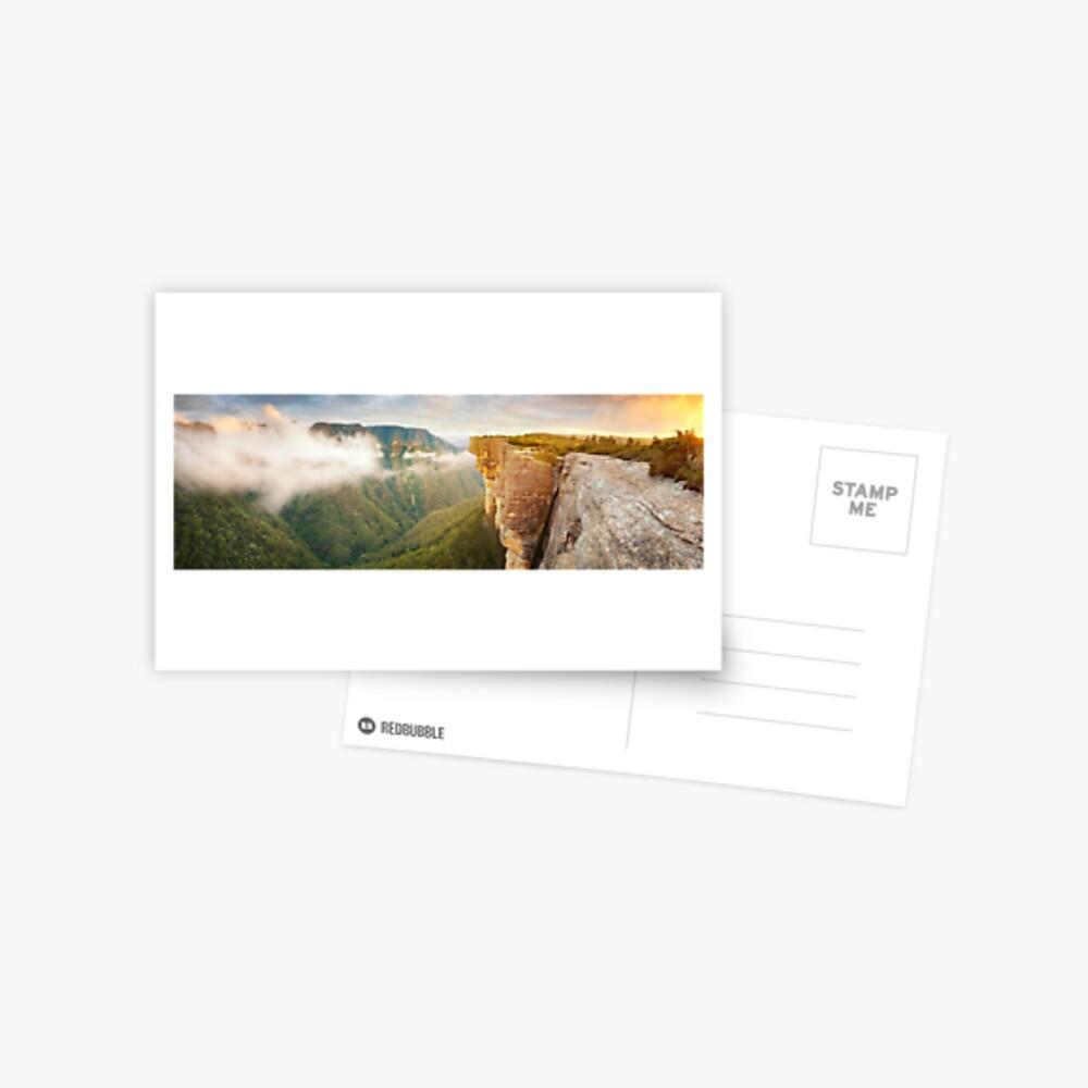 Kanangra Walls, Kanangra Boyd National Park, New South Wales, Australia Postcard