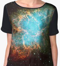 M1 - Crab Nebula, Taurus Women's Chiffon Top