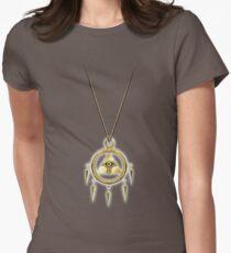 Yu-Gi-Oh! Shining Millennium Ring Womens Fitted T-Shirt