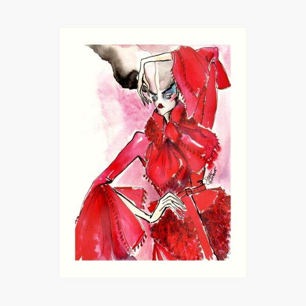 Red Tassel, HOSH Art Print