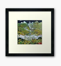 Path to the secret valley of Rivendell Framed Print