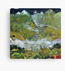 Path to the secret valley of Rivendell Canvas Print
