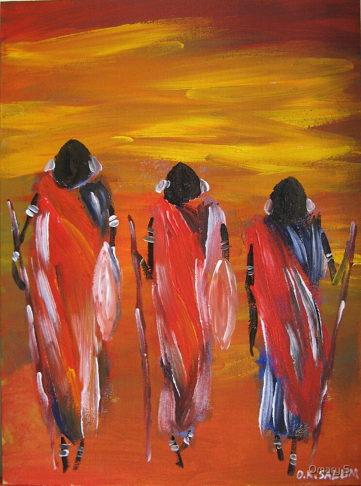 Moving figures by Omary S