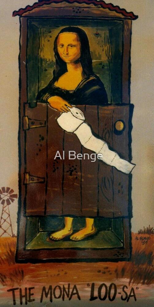 Mona Lisa as never seen before by Al Benge
