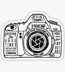 Please Focus Sticker