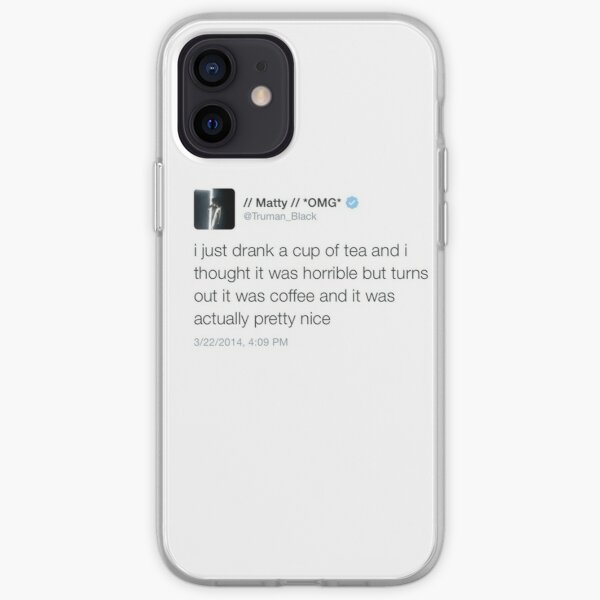 Matty Healy Coffee Tweet Mug iPhone Soft Case