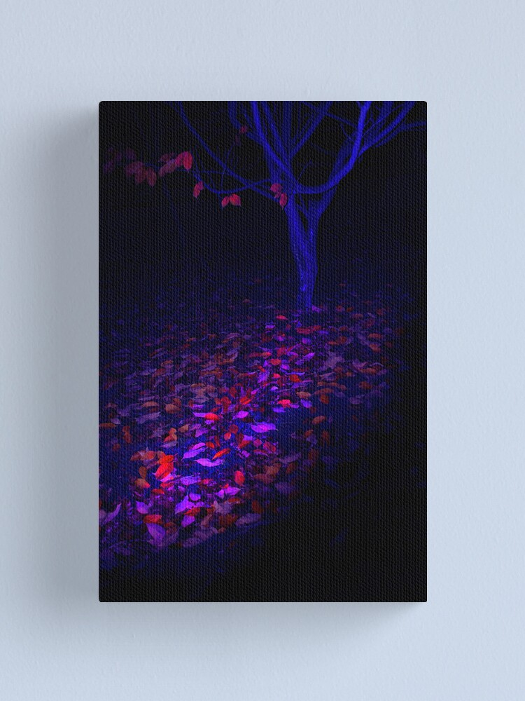 Alternate view of Light trails Canvas Print