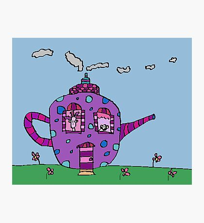 A Teapot For Two Photographic Print