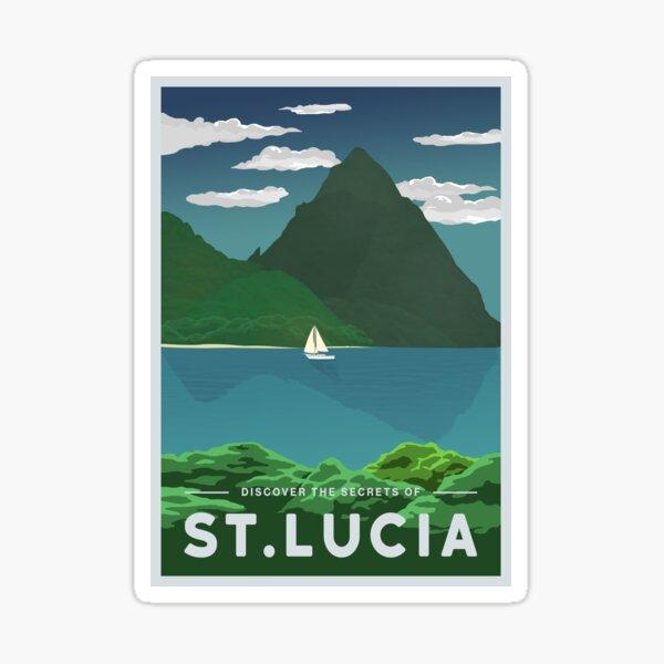 St. Lucia Sticker