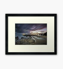 The Pier @ Lorne Framed Print