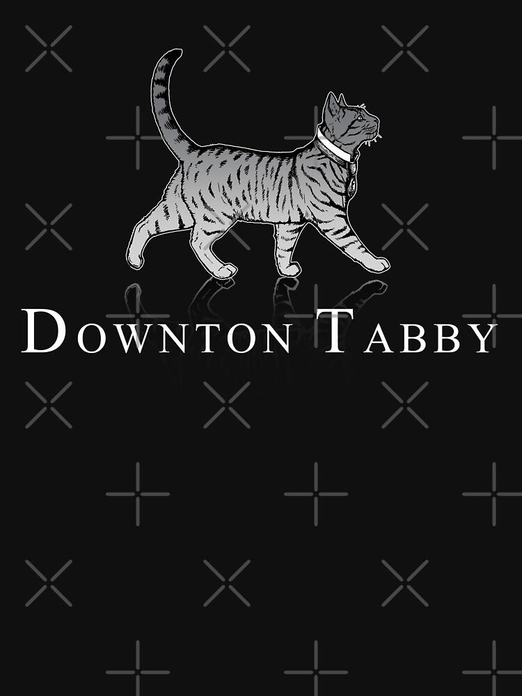 TShirtGifter presents: Downton Tabby | Unisex T-Shirt