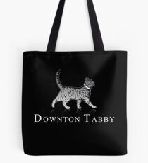 Downton Tabby Tote Bag