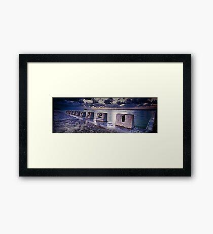 Merewether Storm Framed Print