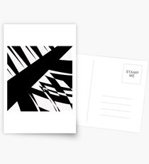 Black and White #8 by Julie Everhart Postcards