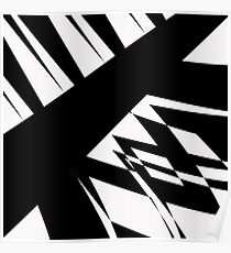 Black and White #8 by Julie Everhart Poster