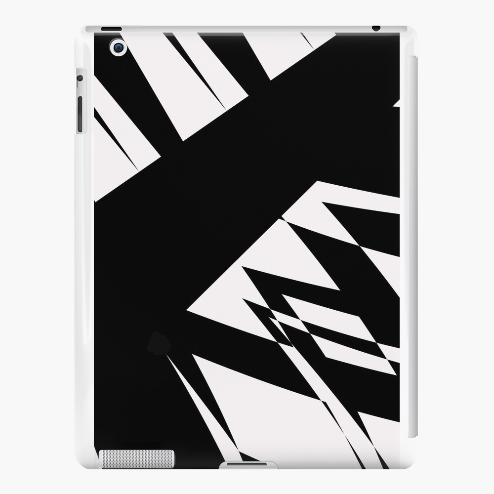 Black and White #8 by Julie Everhart iPad Cases & Skins