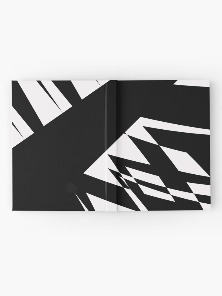 Alternate view of Black and White #8 by Julie Everhart Hardcover Journal