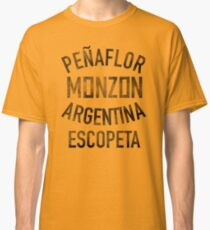 Carlos Monzon Boxing - Training Camp Shirt Classic T-Shirt