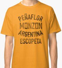 Carlos Monzon Boxing - Trainingslager Shirt Classic T-Shirt