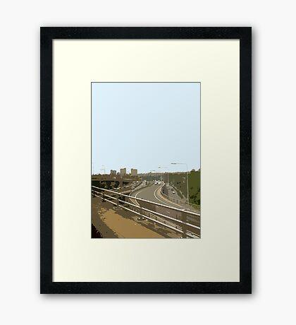 A406 Framed Print