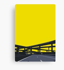 interchange Canvas Print
