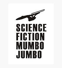 Science Fiction Mumbo Jumbo Starship Photographic Print