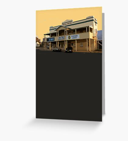 Yeoval, NSW Greeting Card