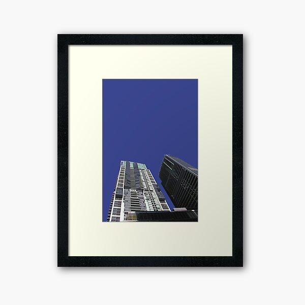 world tower Framed Art Print