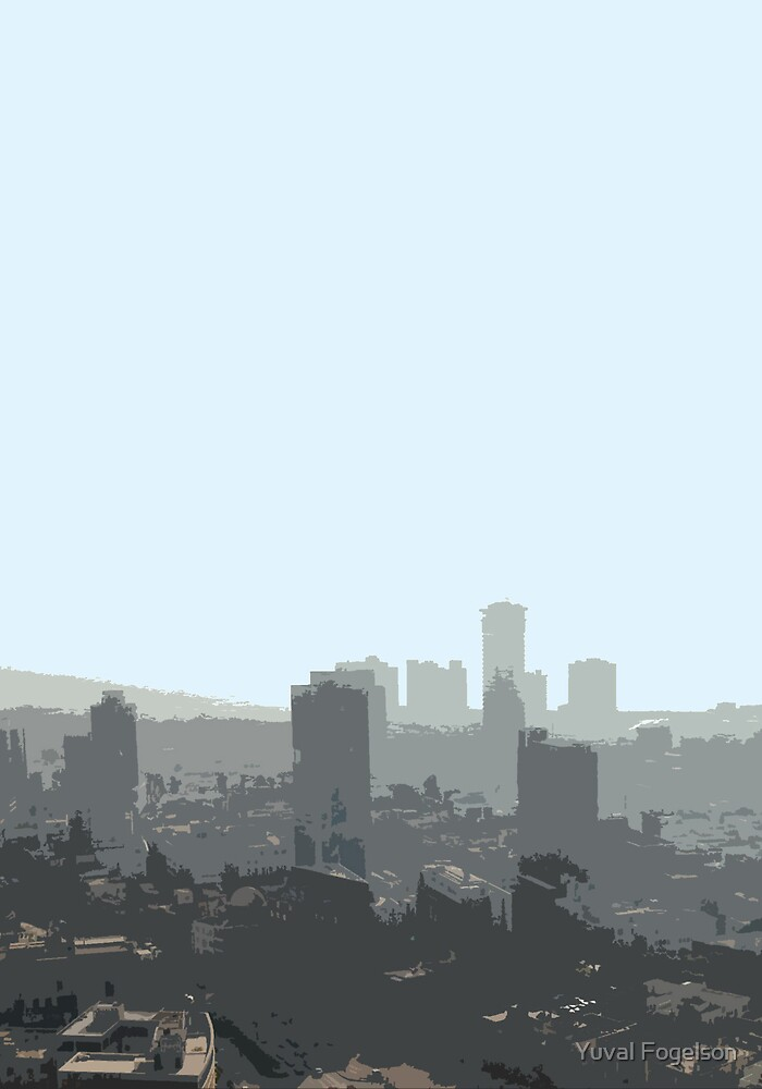 tel aviv haze by Yuval Fogelson