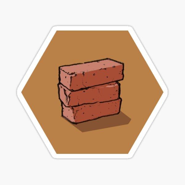 Brick Hex Sticker